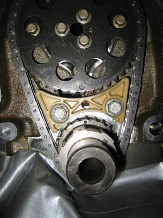 Timing chain tensioner info